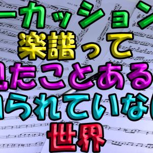 パーカッションの楽譜って見たことある?知られていない世界