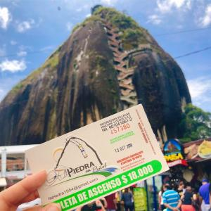 コロンビアにきて88日目・グアタペ・悪魔の岩ピエドラ