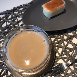 お手軽な朝ごはん自家製チャイミルクティー