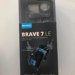 コスパ最高‼️13000円で買ったアクションカメラ AKASO brave 7 le
