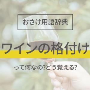 ワインの格付けってどうみるの?3分でわかるお酒用語辞典