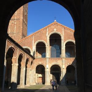 ミラノ最古の教会 ⛪️