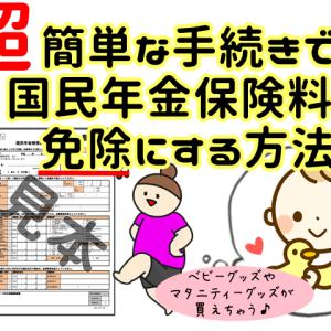 妊娠中に国民年金の産前産後免除制度を申請してみた!