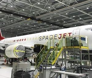 速報!  三菱「スペースジェット」納入6度目の延期決定