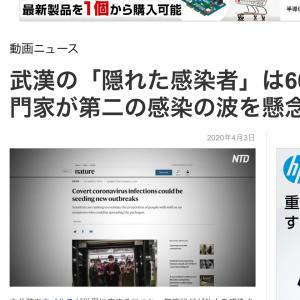武漢の「隠れた感染者」は60% 専門家が第二の感染の波を懸念!