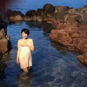 VR自撮りハプニング裏話!大自然に浸かる露天風呂!白浜「崎の湯」VR撮影日記