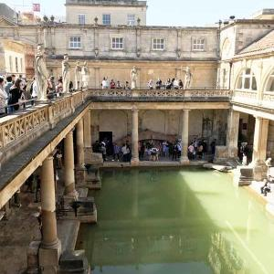 イギリス Bathで ジョージアン時代のドレス