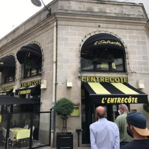 超有名なステーキレストランに行ってきました~@Nantes France