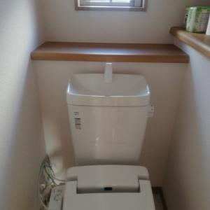 【小掃除マラソン】トイレ水洗タンクと落書き
