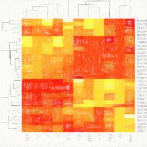Rによるヒートマップの作り方 【遺伝子クラスタリング・色の変更も】