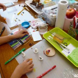 「やっぱり来て良かった♪楽しい!」 Satominiのこども粘土教室はママさんも楽しめる内容♪