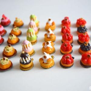 ミニチュア『パリスイーツ』パリでがんばる日本人パティシエを応援する♪継続は力なり!