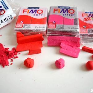 FIMO フィモ粘土の「種類と固さ」を比較してみた!プロフェッショナル、ソフト、キッズ