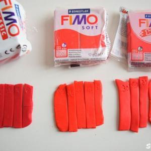 FIMO フィモ粘土「焼き時間」を比較してみたら…5分、10分、20分、30分、40分