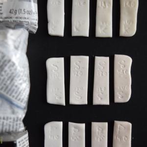 FIMO フィモ粘土「焼き温度」を比較★110度、120度、130度、140度