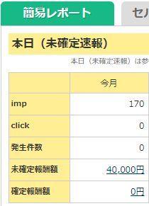 4万円のアフィリエイト収入