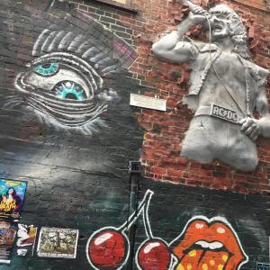 【旅行】ストリートアートとシェラトンホテル