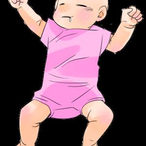 眠っているかわいい赤ちゃんのイラスト素材です。男の子・女の子・モノクロの差分あり。