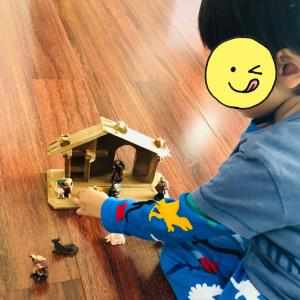3歳息子が夢中になってた【プレセーペ】