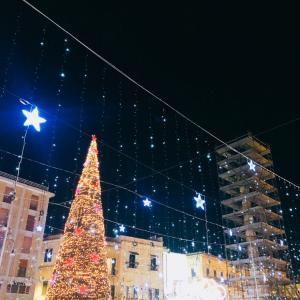 バロックの街レッチェ、クリスマスイルミネーション