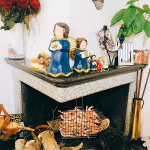 イタリアンマンマ、暖炉の使い方