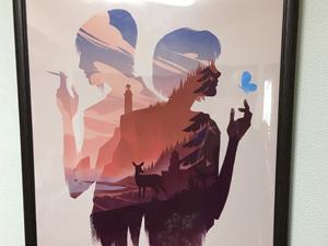 ポスター製作事例 -インテリアポスター