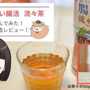 サントリーおいしい腸活流々茶を飲んでみた!味や見た目などを写真付きでレビュー!