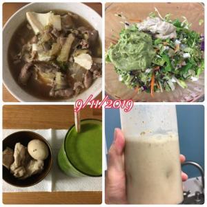 低糖質ダイエット 食事例 24日目