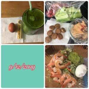 低糖質ダイエット 食事例 25日目