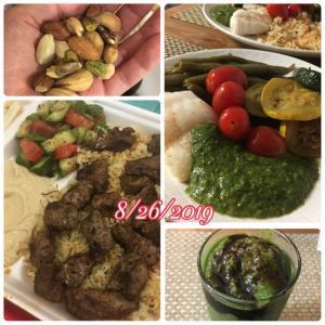 低糖質高たんぱくダイエット 食事例 8日目