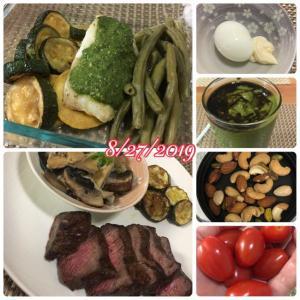 低糖質高たんぱくダイエット 食事例 9日目