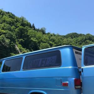 神奈川 田代運動公園の河川敷で デイキャンプ