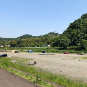 神奈川 田代運動公園の河川デイキャンプ 2