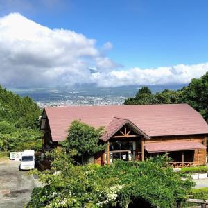 絶景の富士山が見えるキャンプ場 乙女森林公園第2キャンプ場