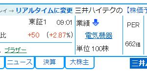 三井ハイテック 6966