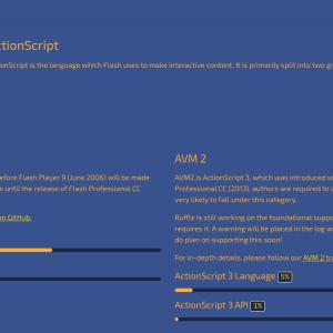 Flash Player 互換拡張機能「Ruffle」の導入方法