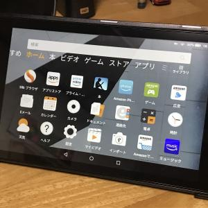 Fire HD 8タブレット購入