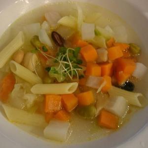 読書とお野菜料理