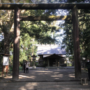 神武天皇を祀る皇宮神社(宮崎市)
