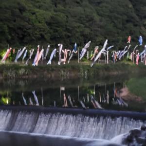 壮大!400匹のこいのぼり(福岡県北九州市)