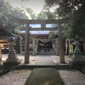 空襲の傷跡が今物残る 安浦神社(福岡県行橋市)