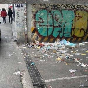 韓国と日本の街角の差[韓国ネット民]日本人は住宅前の掃除を娯楽として行うのだ。私たちにできることではない。