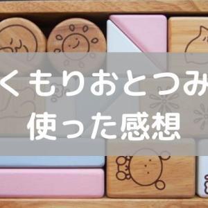 0歳の知育玩具!振ると音がする【ぬくもりおとつみき】のレビュー!