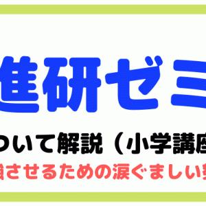 進研ゼミ【小学講座】について元教員が解説(勉強させるための涙ぐましい努力)