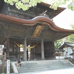 阿蘇神社へ・・工事進捗状況