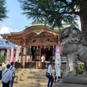 今戸神社 招き猫発祥の地とか沖田総司終焉の地とか