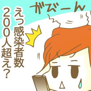 【マンガ】また東京で新型コロナ感染者数増えてますけど
