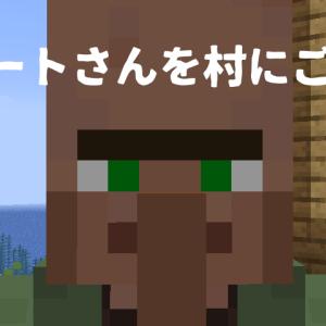 【マイクラ日記25】ついに来た1.14!村に行ったら村から追い出されたニートが!