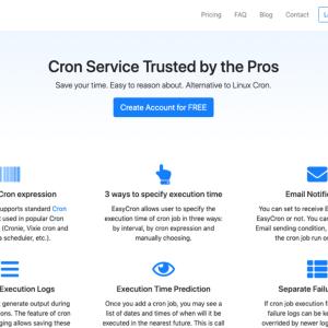 EasyCron.com – WordPressのcronの代替に利用できる外部Cronサービスの使い方