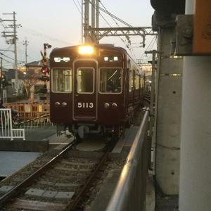 【阪急伊丹線】5118編成が正雀へ、神戸線からフルマルーン車が消える?